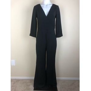Abercrombie & Fitch Jumpsuit Size 0 Black Flared